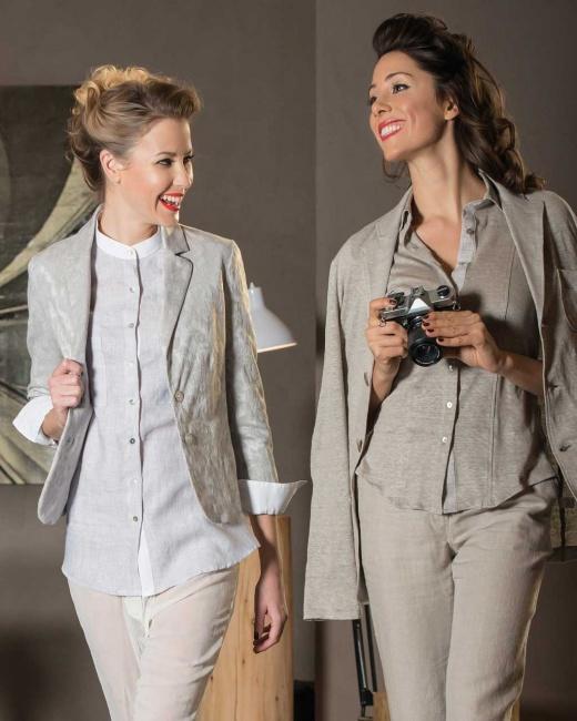Camicie di lino clasiche And Camicie