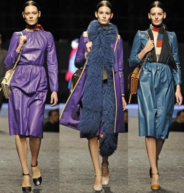 Cappotti Prada autunno inverno 2014 2015