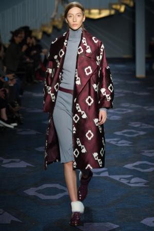 Cappotto geometrico Tod's autunno inverno 2014 2015