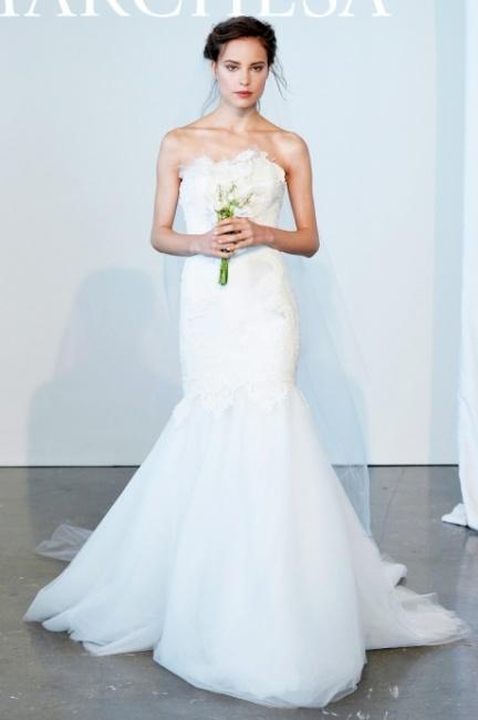 Catalogo abiti sposa Marchesa 2015