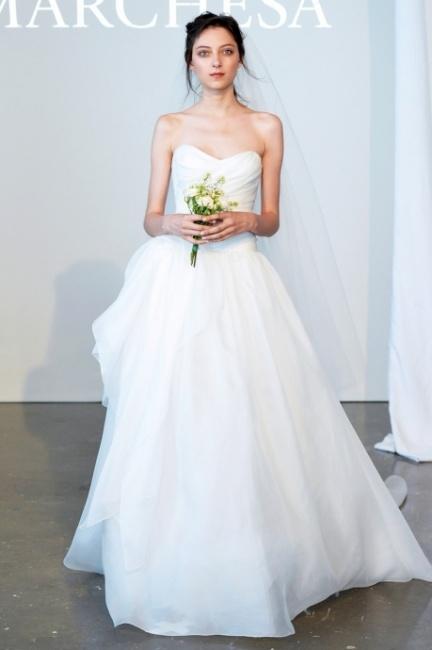 Collezione abiti sposa Marchesa 2015