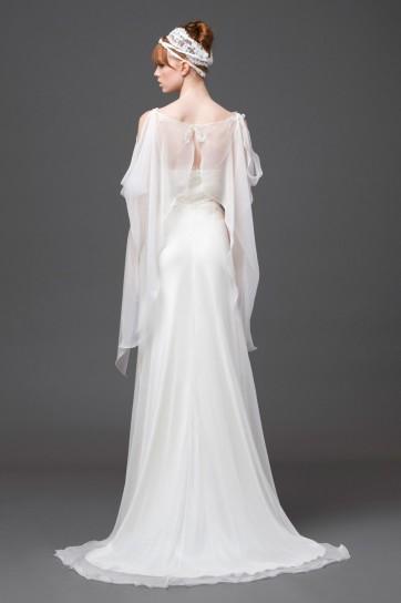 Dettaglio vestito da sposa Alberta Ferretti 2015