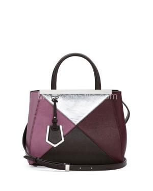 Fendi autunno inverno 2014 2015 Multicolor 2Jours Mini Tote Bag