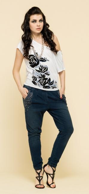 Jeans con strass Artigli primavera estate 2014