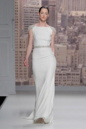 Long dress con cristalli Rosa Clarà 2015