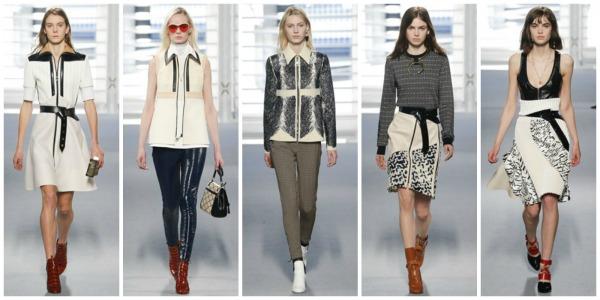 Louis Vuitton autunno inverno 2014 2015 moda donna