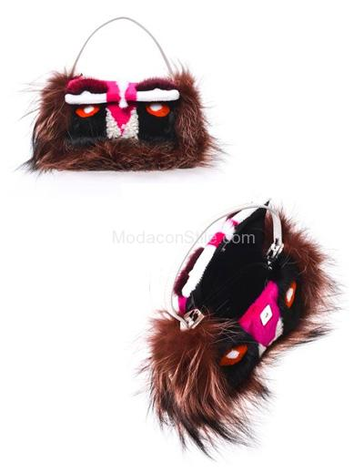 Mini baguette monster bag Fendi autunno inverno 2014 2015