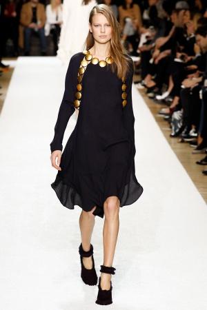 Mini dress Chloé autunno inverno 2014 2015