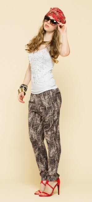 Pantaloni stampati Artigli primavera estate 2014