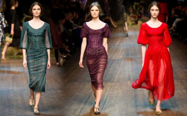 Vestiti Dolce & Gabbana autunno inverno 2014 2015