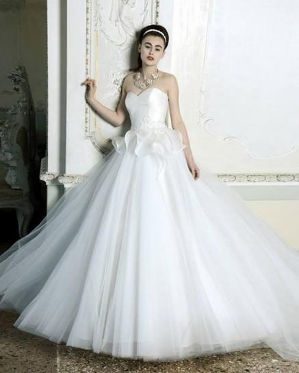 Vestito sposa ampio Atelier Aimée 2015
