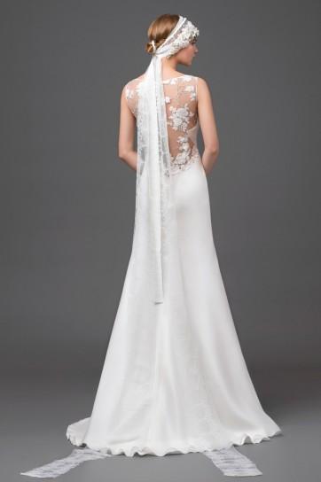 Wedding dress con top ricamato Alberta Ferretti 2015