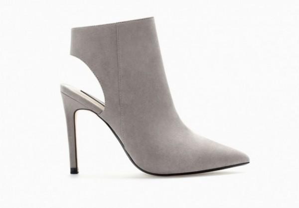 Ankle boot scamosciati Zara autunno inverno 2014 2015