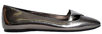 Balerine lucide scarpe Prada autunno inverno 2014 2015