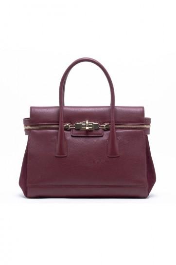 Handbag prugna Max Mara