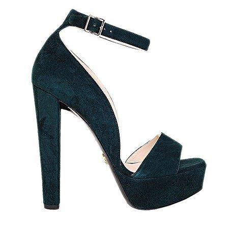 Sandali scarpe Prada autunno inverno 2014 2015