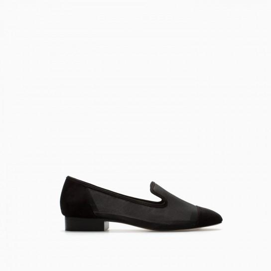 Slippers mesh Zara autunno inverno 2014 2015