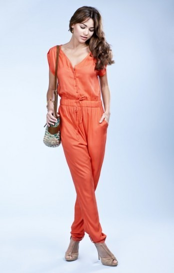 Jumpsuit orange