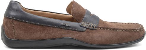Mocassino camoscio Geox scarpe autunno inverno 2015
