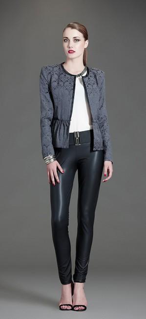 Pantaloni pelle Artigli autunno inverno 2014 2015