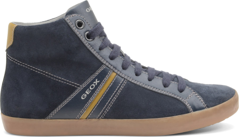 Sneakers alte camoscio Geox scarpe uomo autunno inverno 2015