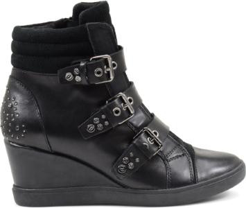Sneakers alte con zeppa Geox scarpe autunno inverno 2014 2015