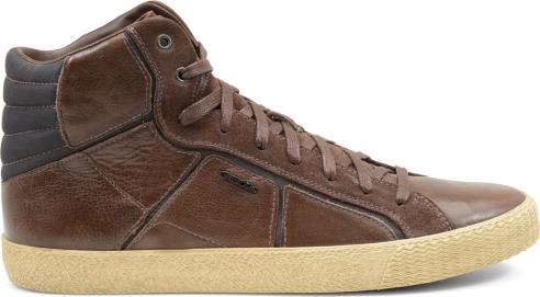 Sneakers alte pelle Geox scarpe uomo autunno inverno 2015