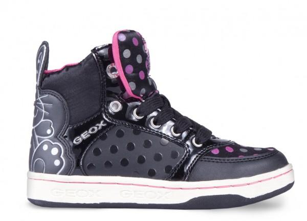 Sneakers con pois Geox scarpe autunno inverno 2015