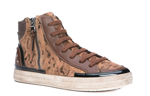 Sneakers con zip Geox scarpe autunno inverno 2014 2015
