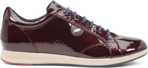 Sneakers lucide Geox scarpe autunno inverno 2014 2015