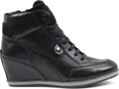 Sneakers pelle con zeppa Geox scarpe autunno inverno 2014 2015