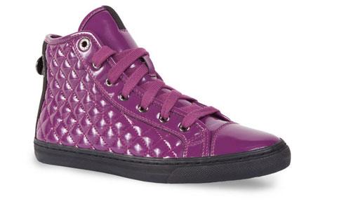Sneakers teapuntate vernice Geox scarpe autunno inverno 2014 2015