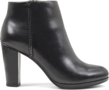 Tronchetto in pelle con zip Geox scarpe autunno inverno 2014 2015