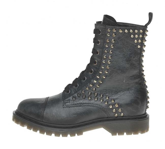 Anfibi con borchie Fornarina scarpe autunno inverno 2014 2015