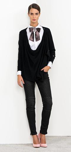 Camicia con fiocco Nenette autunno inverno 2014 2015