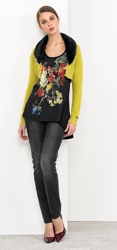 Camicia fiori Nenette autunno inverno 2014 2015