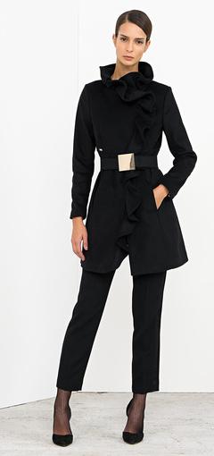 Cappottino con cintura Nenette autunno inverno 2014 2015