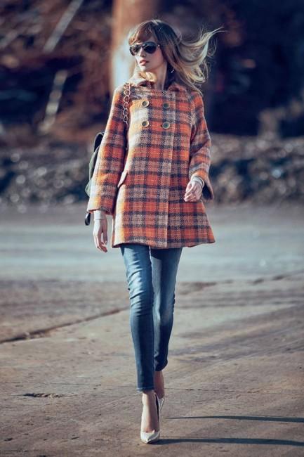 Cappotto Denny Rose autunno inverno 2014 2015