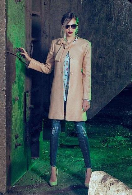 Cappotto elegante Denny Rose autunno inverno 2014 2015