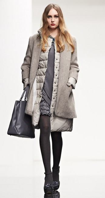 Cappotto mohair Twin Set autunno inverno 2014 2015