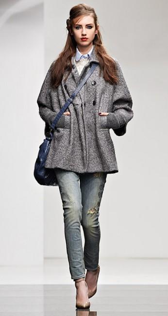 Cappotto panno Twin Set autunno inverno 2014 2015