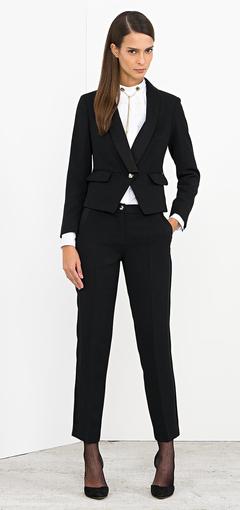 Completo giacca pantalone Nenette autunno inverno 2014 2015