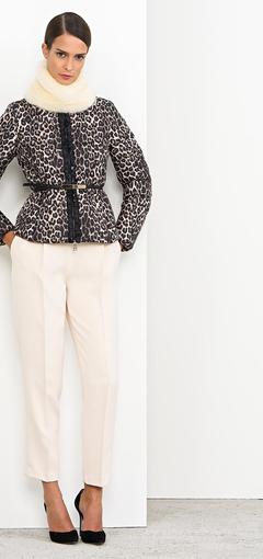 Giacca con cintura Nenette autunno inverno 2014 2015