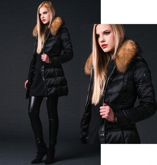Giubbotto con pelliccia Phard autunno inverno 2014 2015