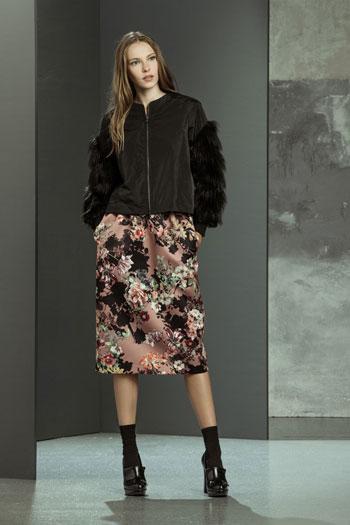 Giubbotto maniche pelliccia Imperial autunno inverno 2014 2015