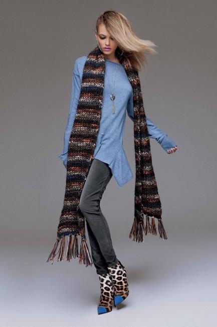 Mini abito Denny Rose autunno inverno 2014 2015