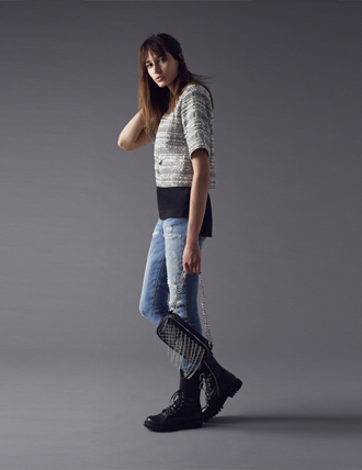 Pantalone jeans Pinko autunno inverno 2014 2015