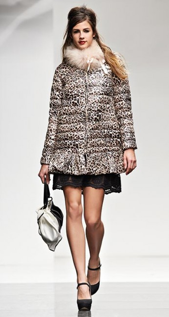 Piumino animalier Twin Set autunno inverno 2014 2015