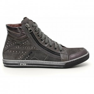 Sneakers con zip Nero Giardini autunno inverno 2014 2015
