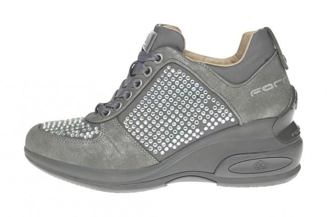 Sneakers griggio Fornarina scarpe autunno inverno 2014 2015